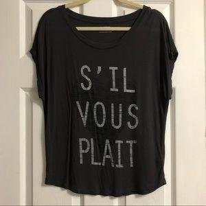 EXPRESS French Inspired Shirt Size Medium